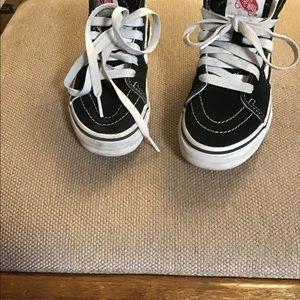 Vans Off the wall high top sneakers Sz 12 kids
